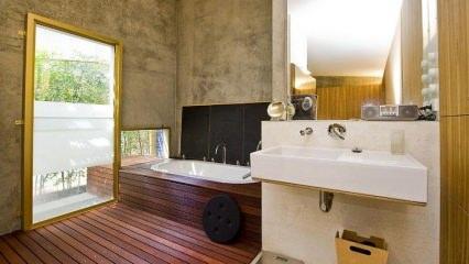 Çocuklu aileler için banyo tasarımı fikirleri