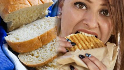 Ekmek kilo aldırır mı? Ekmek yemeden 1 ayda kaç kilo verilir? Ekmek diyeti listesi