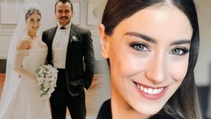 Hazal Kaya'dan evlendikten sonra ilk paylaşım!