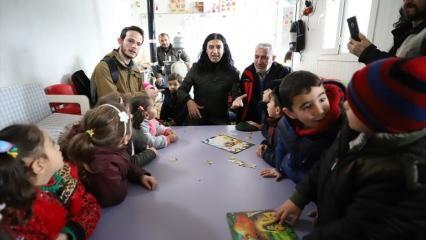 Murat Kekilli Suriye'deki sığınmacı kampları ziyaret etti