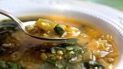 Kolay pazı çorbası nasıl yapılır? Enfes pazı çorbasının püf noktaları