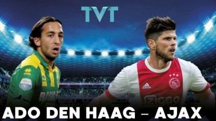 ADO Den Haag - Ajax maçı TVT'de