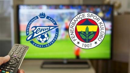 Fenerbahçe Zenit maçını şifresiz veren kanallar! FB-Zenit...