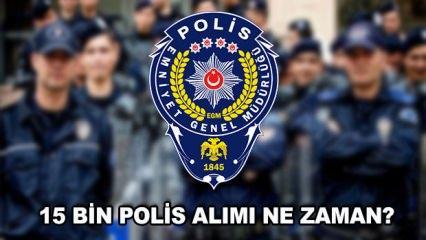 15 bin polis alımı ne zaman yapılacak? Süleyman Soylu detayları açıkladı!