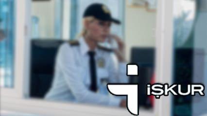 İŞKUR'dan güvenlik görevlisi alımı! Başvuru ekranı ve şartları..