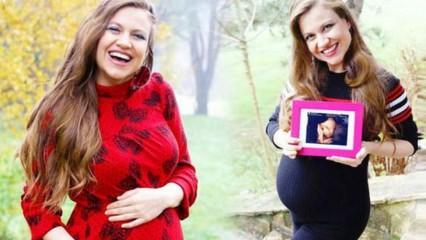 Sunucu Gülhan Şen, annelik duygularını ilk kez paylaştı!