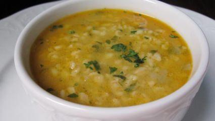 Yoğurtlu buğday çorbası nasıl yapılır? En kolay buğday çorbası tarifi