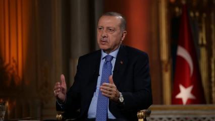 Cumhurbaşkanı Erdoğan: Bu kadın şirazesinden çıkmış!