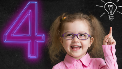 Okul öncesi matematik etkinlikleri! Dört işlem en kolay nasıl öğretilir?
