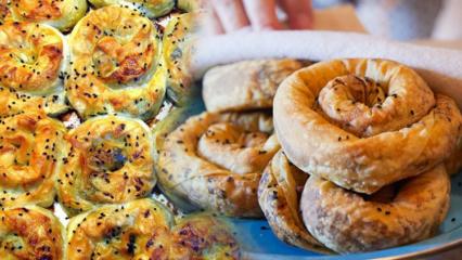Sodalı börek nasıl yapılır? En kolay sodalı gül böreği tarifi