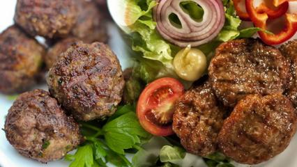 Köfte kilo aldırır mı? Diyet yaparken köfte yenir mi? Köfte kalorisi