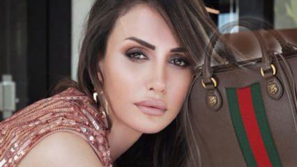 Emina Jahovic'in servet değerindeki çantası dudak uçuklattı!