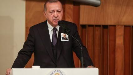 Erdoğan cenaze töreninde dünyaya seslendi: Önlem alınmazsa...