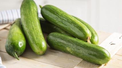 Salatalığın faydaları nelerdir? Salatalık suyu içmek! 1 hafta boyunca salatalık yerseniz...