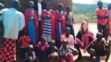 Tuba Ünsal Afrika'dadaki yardıma muhtaç insanları ziyaret etti!