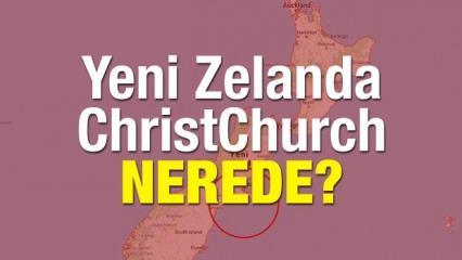 Müslümanlara saldırı düzenlenen Yeni Zelanda (ChristChurch) nerede?