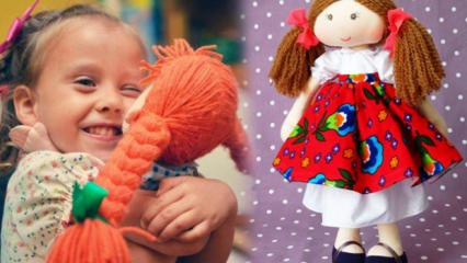 Pratik bez bebek nasıl yapılır? Evde en güzel ve kolay ten çoraptan oyuncak bebek yapımı