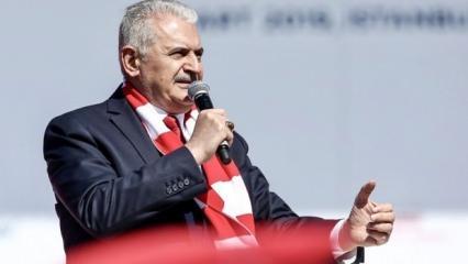 Binali Yıldırım: İstanbul'u dünyanın yıldızı yapacağız