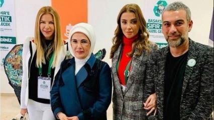 Emine Erdoğan etkinliğinde ünlü isimler!