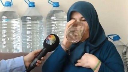 Günde 25 litre su içen Necla Teyze'nin hikayesi!