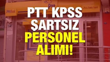 2019 PTT'ye 55 bin personel alımı! KPSS şartsız başvuru detayları neler?