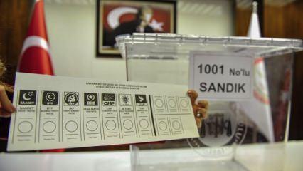 31 Mart seçimleri oy verme işlemi saat kaçta başlayacak saat kaçta bitecek?