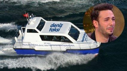 Oğuz Koç konsere yetişmek için deniz taksiye bindi!
