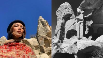 Bella Hadid Kapadokya'da!