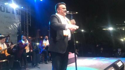 Bülent Serttaş sahnede herkesi güldürdü!
