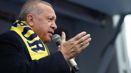 Erdoğan net konuştu: HDP bayrak ve marş düşmanı! İş müjdesi de verdi
