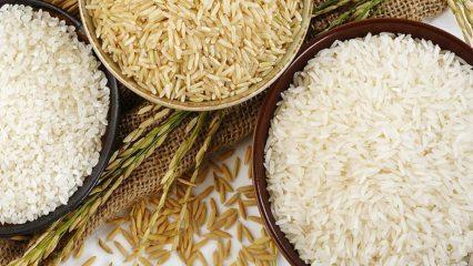 Pirinç yutarak zayıflama yöntemi