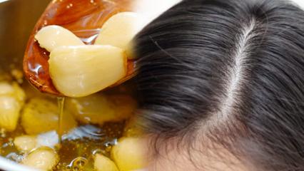 Sarımsak saç çıkarır mı sorusunun yanıtı! Sarımsağın saça faydaları nelerdir?