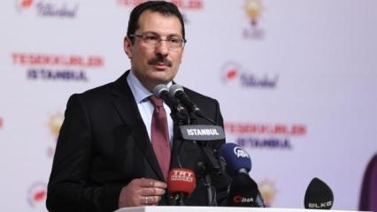 Son dakika 'İstanbul' açıklaması: AK Parti rakam verdi