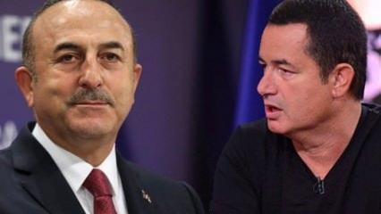 Acun Ilıcalı'dan Mevlüt Çavuşoğlu'na tam destek!