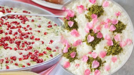 Güllaç kaç kalori, kilo aldırır mı? Evde diyet güllaç nasıl yapılır? Bol sütlü güllaç tarifi
