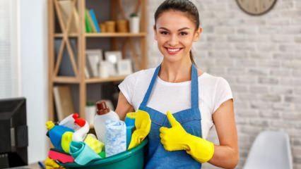 Kolay ev temizliği nasıl yapılır?  Ramazan ayında ev temizliğinin püf noktaları