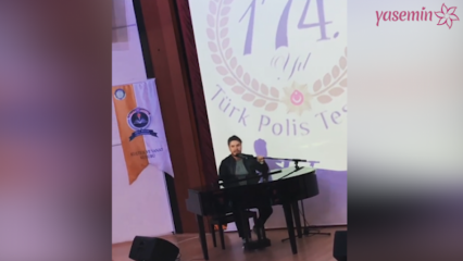 Mustafa Ceceli'den Polislere özel konser