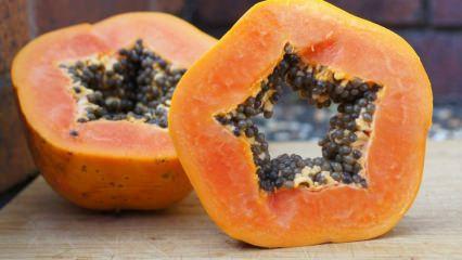 Papaya meyvesinin faydaları nelerdir? Papaya çekirdeklerini sakın atmayın!