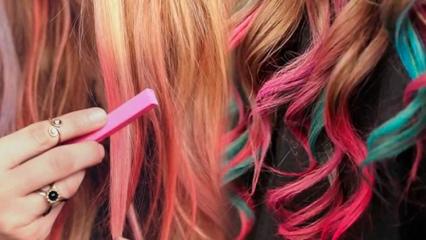 Saç tebeşiri nasıl uygulanır ve ne kadar sürede çıkar? Saç tebeşiri zararlı mıdır?