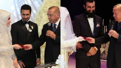 Başkan Erdoğan aynı günde iki ayrı düğüne katıldı