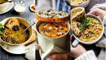 İftar için en kolay çorba tarifleri! Enfes ve tadına doyum olmayacak çorbalar...
