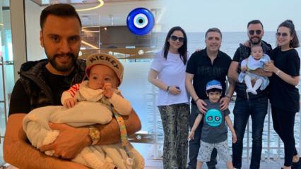 Buse Varol'dan mutlu aile tatil pozu!