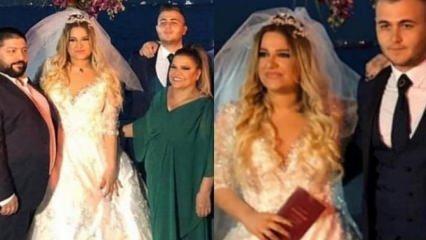 Kibariye'nin kızı Birgül Küçükbalçık evlendi!