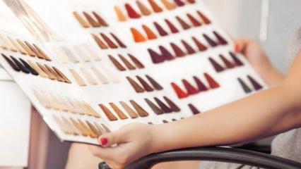 Saç boyası nasıl seçilir? Saç boyası rengi seçmenin püf noktaları
