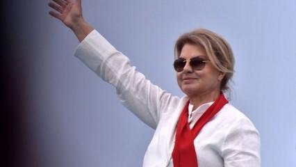 Eski başbakan Tansu Çiller'in figürü Madame Tussauds'da sergileniyor