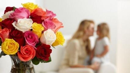 Anneler gününe özel hediye dekorasyon ürünleri