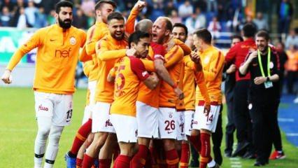Galatasaray'dan Rize'de 90+7 zaferi!