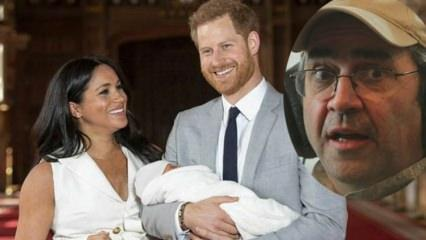 Prens Harry'nin oğlunu maymuna benzeten DJ kovuldu!