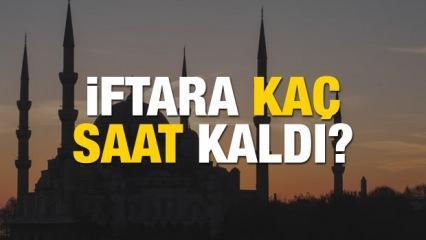 Ramazan 1. günü İftar vakitleri: Diyanet 6 Mayıs iftara kaç saat kaldı?