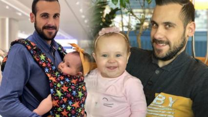 Ümit Erdim'in kızı Ses 1 yaşını kutladı
